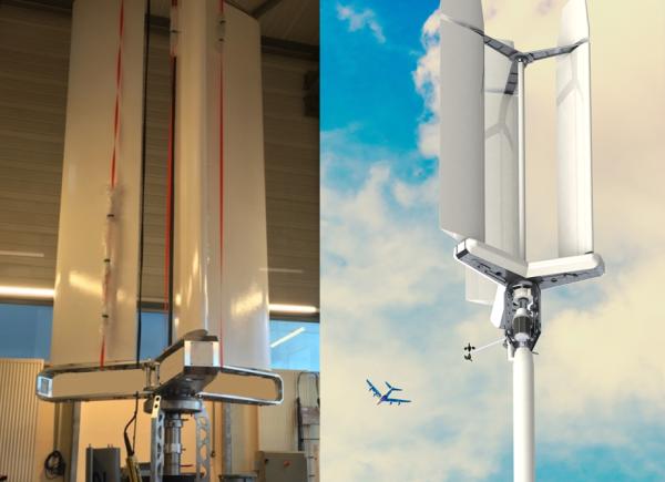 Advtech, proto éolienne CW3KW