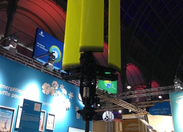 Advtech, proto éolienne CWMini COP21 v2