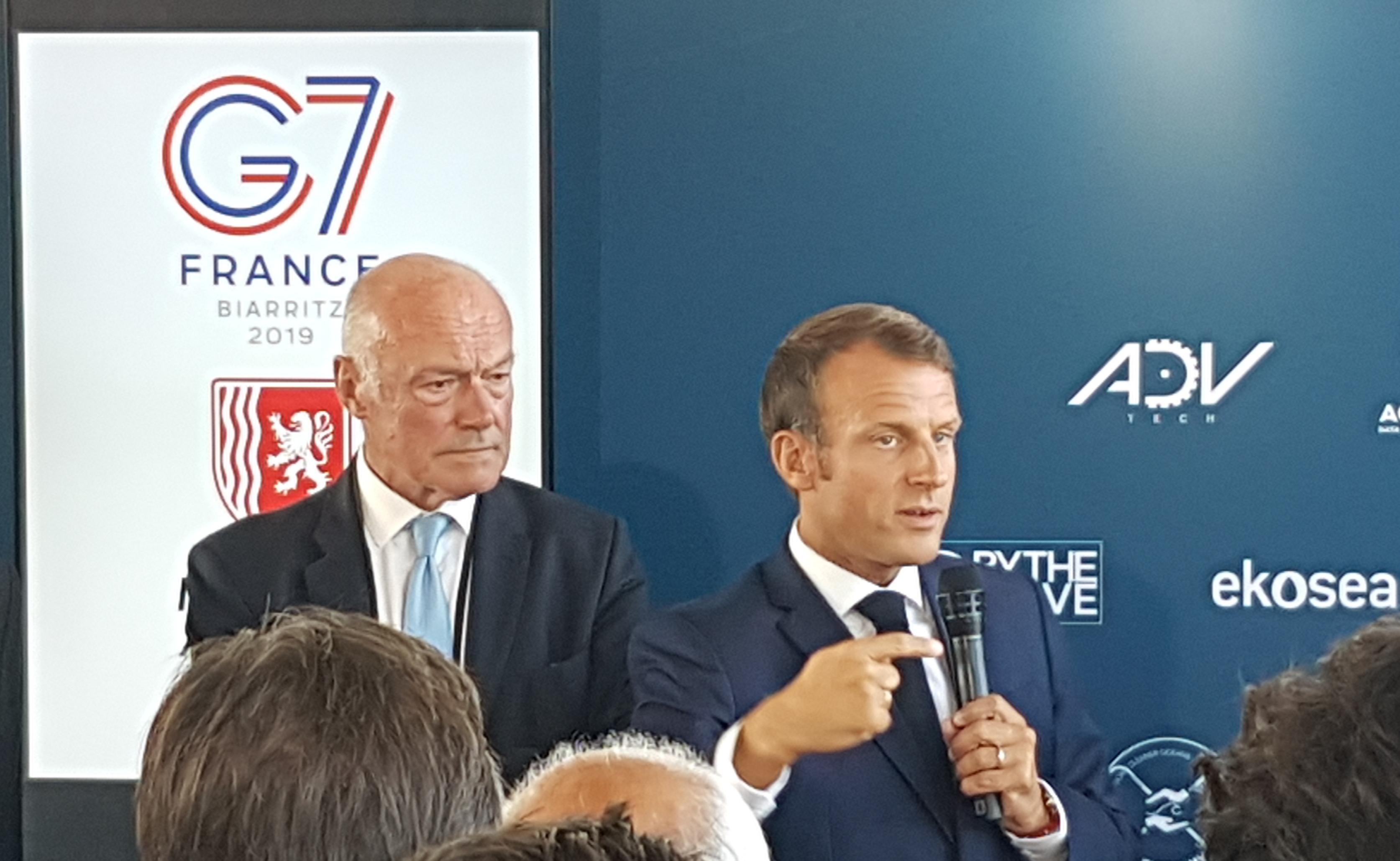 Advtech, photo G7 Biarritz 2019